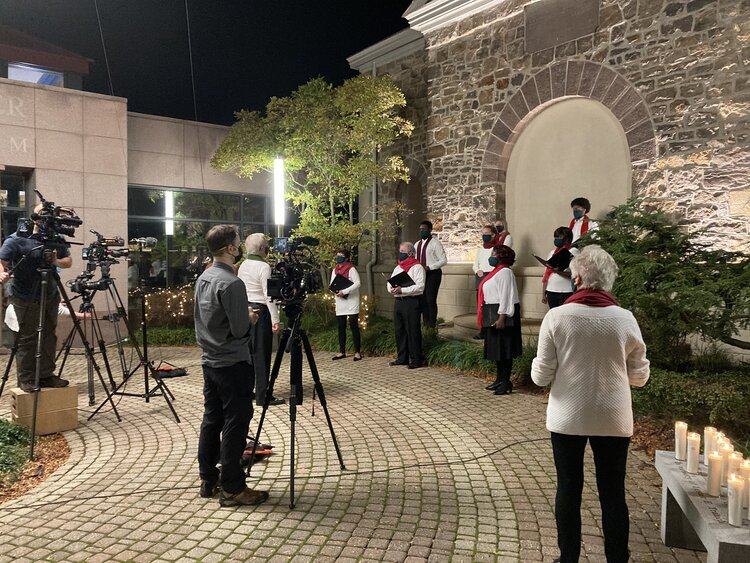 Bucks County Choral Society collab